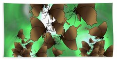 Butterfly Patterns 15 Hand Towel