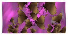 Butterfly Patterns 17 Hand Towel