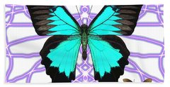 Butterfly Patterns 18 Hand Towel
