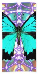 Butterfly Patterns 20 Hand Towel