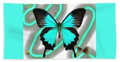 Butterfly Patterns 23 Hand Towel