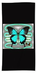 Butterfly Patterns 24 Hand Towel