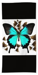Ulysses Butterfly All A Flutter Bath Towel