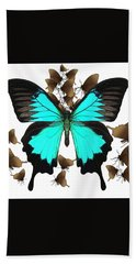 Butterfly Patterns 25 Hand Towel