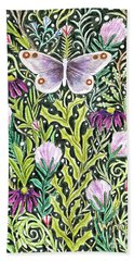 Butterfly Tapestry Design Bath Towel