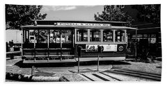 Cable Car Turn Around Bath Towel