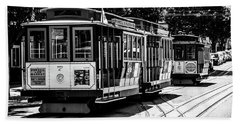 Cable Cars Hand Towel