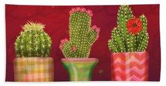 Cactus Friends I Hand Towel