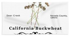 California Buckwheat Bath Towel