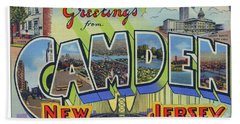 Camden Greetings Bath Towel