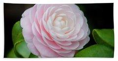 Camellias Japonica 004 Bath Towel