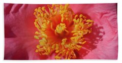 Camellias Japonica 130 Hand Towel