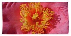 Camellias Japonica 130 Bath Towel