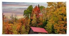 Canadian Autumn Bath Towel
