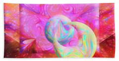 Candy Universe Hand Towel