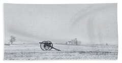 Cannon Out In The Field Hand Towel