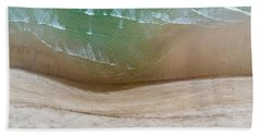 Cape Cod Beach Abstract Bath Towel