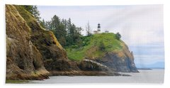 Cape Disappointment With Cliffs Bath Towel