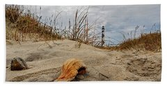 Cape Lookout Lighthouse Bath Towel