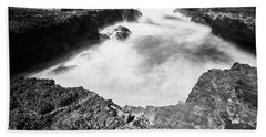 Hand Towel featuring the photograph Cape Perpetua by Whitney Goodey