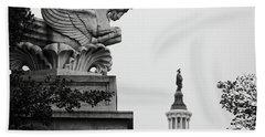 Capitol Statues Hand Towel