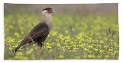 Caracara In Spring Bath Towel