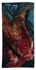 Carcass Of Beef, 1925 Hand Towel