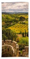 Carcassonne Hand Towel