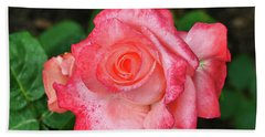 Carina Hybrid Tea Rose Bath Towel