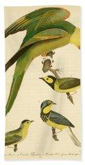 Carolina Parrot Bath Towel