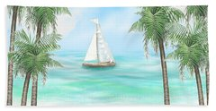 Carribean Bay Bath Towel