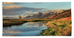 Carson Valley Sunrise Bath Towel