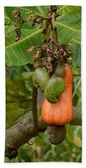 Cashew Apple And Nuts Bath Towel