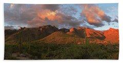 Catalina Mountains, Arizona Bath Towel