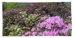 Catawba Rhododendron Table Rock  Bath Towel