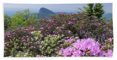 Catawba Rhododendron Table Rock  Hand Towel