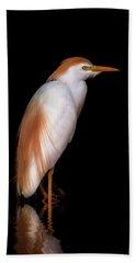 Cattle Egret Hand Towel