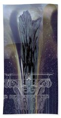 Celestial Vase Abstract Hand Towel