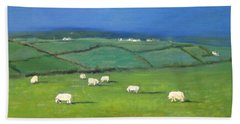 Celtic Sheep Bath Towel