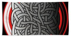 Celtic Shield Knot 4 Bath Towel