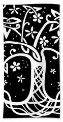 Celtic Tree Of Life 3 Bath Towel