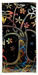 Celtic Tree Of Life Hand Towel