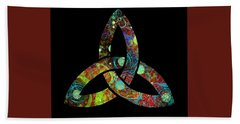 Celtic Triquetra Or Trinity Knot Symbol 1 Hand Towel