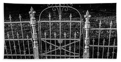 054 - Cemetery Gate Bath Towel