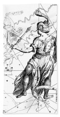 Cepheus, The Boreal Constellation Of The King Of Ethiopia Or The Father Of Andromeda Bath Towel
