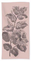 Cerasus Blush Pink Flower Bath Towel