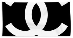 Chanel You Only Live Once Hand Towel