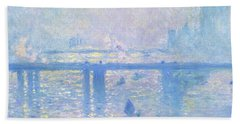 Charing Cross Bridge - Digital Remastered Edition Bath Towel