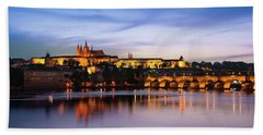 Charles Bridge Bath Towel