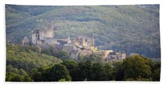 Chateau Beynac, France Bath Towel